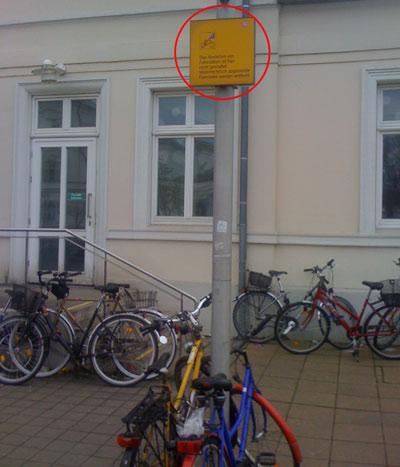 Fahrrad Lüneburg Bahnhof
