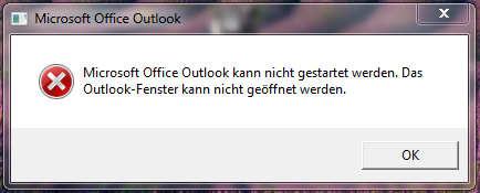 outlookfehler